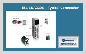 Leadshine Easy Servo Drive ES2-3DA2206 - MAS Auto Systems Pvt Ltd