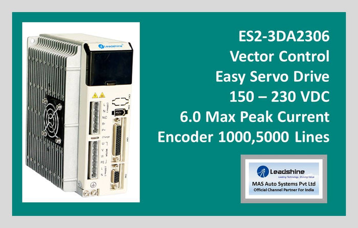 Leadshine Vector Easy Servo Drive ES2-3DA2306