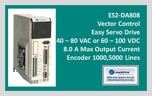 Leadshine Vector Control Easy Servo Drive ES2-DA808 - MAS Auto Systems Pvt Ltd