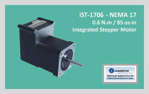 Leadshine Integrated Stepper iST-1706 NEMA 17 - MAS Auto Systems Pvt Ltd