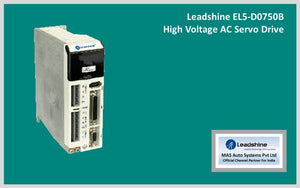 Leadshine High Voltage AC Servo Drive EL5-D0750B - MAS Auto Systems Pvt Ltd