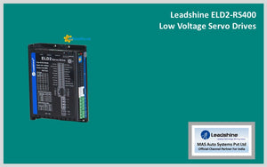 Leadshine Servo Drive (DC Input) ELD2-RS400 - MAS Auto Systems Pvt Ltd