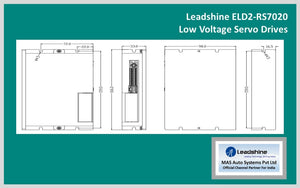 Leadshine Servo Drive (DC Input) ELD2-RS7020 - MAS Auto Systems Pvt Ltd