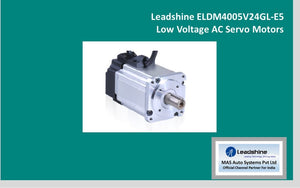 Leadshine  Low Voltage Servo ELDM4005V24GL-E5 - MAS Auto Systems Pvt Ltd