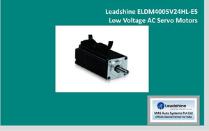 Leadshine  Low Voltage Servo ELDM4005V24HL-E5 - MAS Auto Systems Pvt Ltd