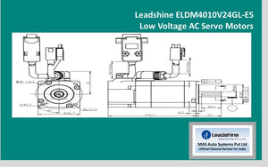 Leadshine  Low Voltage Servo ELDM4010V24GL-E5 - MAS Auto Systems Pvt Ltd