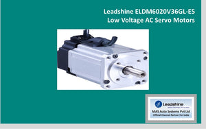 Leadshine  Low Voltage Servo ELDM6020V36GL-E5 - MAS Auto Systems Pvt Ltd