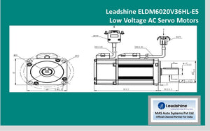 Leadshine  Low Voltage Servo ELDM6020V36HL-E5 - MAS Auto Systems Pvt Ltd