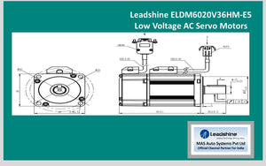 Leadshine  Low Voltage Servo ELDM6020V36HM-E5 - MAS Auto Systems Pvt Ltd