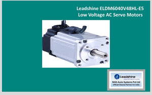 Leadshine  Low Voltage Servo ELDM6040V48HL-E5 - MAS Auto Systems Pvt Ltd