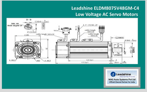 Leadshine  Low Voltage Servo ELDM8075V48GM-C4 - MAS Auto Systems Pvt Ltd