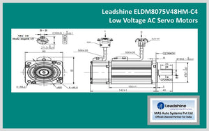 Leadshine  Low Voltage Servo ELDM8075V48HM-C4 - MAS Auto Systems Pvt Ltd