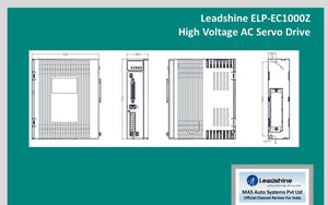 Leadshine High Voltage AC Servo Drive ELP-EC1000Z - MAS Auto Systems Pvt Ltd