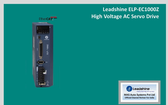 Leadshine High Voltage AC Servo Drive ELP-EC1000Z