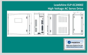 Leadshine High Voltage AC Servo Drive ELP-EC2000Z - MAS Auto Systems Pvt Ltd