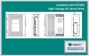 Leadshine High Voltage AC Servo Drive ELP-EC750Z - MAS Auto Systems Pvt Ltd