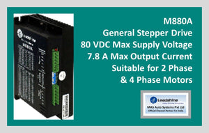 Leadshine Stepper Drive M880A - MAS Auto Systems Pvt Ltd