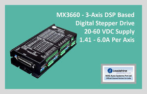 Leadshine Digital Stepper Drive MX Series - MX3660 - MAS Auto Systems Pvt Ltd