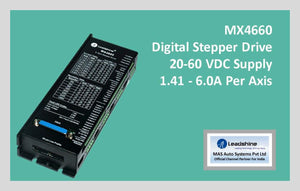 Leadshine Digital Stepper Drive MX Series - MX4660 - MAS Auto Systems Pvt Ltd