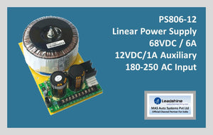 Leadshine Linear Power Supply PS806-12 - MAS Auto Systems Pvt Ltd