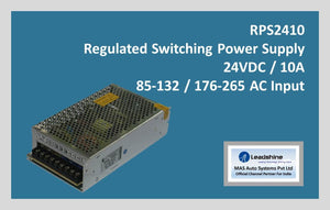 Leadshine Regulated Switching Power Supply RPS2410 - MAS Auto Systems Pvt Ltd