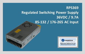 Leadshine Regulated Switching Power Supply RPS369 - MAS Auto Systems Pvt Ltd