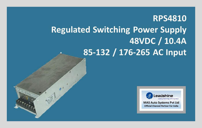 Leadshine Regulated Switching Power Supply RPS4810