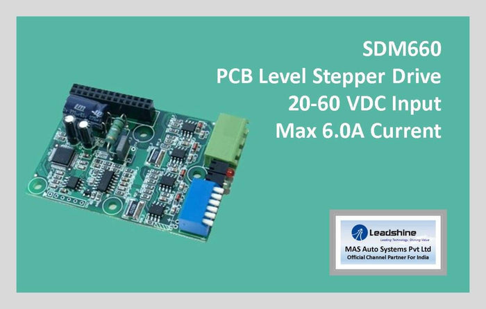 Leadshine Digital Stepper Drive MX Series - SDM660