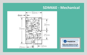 Leadshine Digital Stepper Drive MX Series - SDM660 - MAS Auto Systems Pvt Ltd