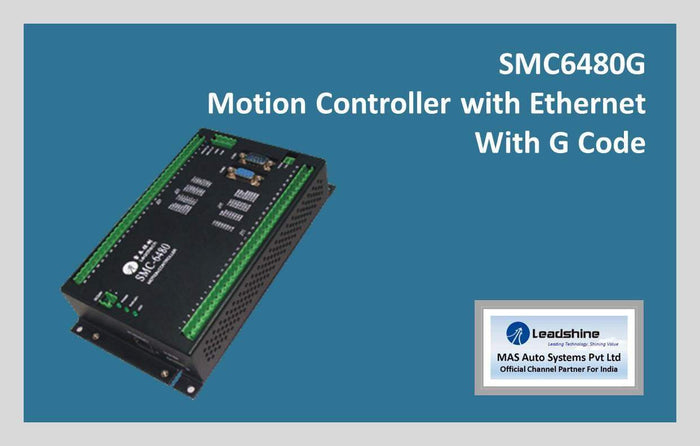 Leadshine Motion Controller with Ethernet SMC6480G