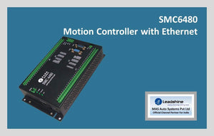 Leadshine Motion Controller with Ethernet SMC6480 - MAS Auto Systems Pvt Ltd