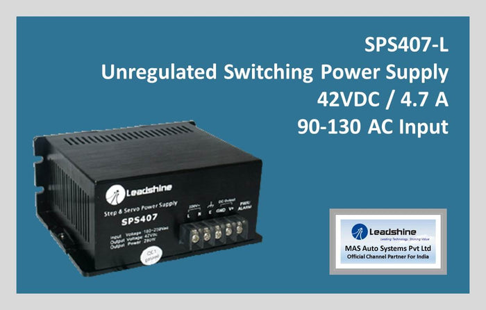 Leadshine Unregulated Switching Power Supply SPS 407-L