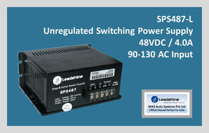 Leadshine Unregulated Switching Power Supply SPS 487-L - MAS Auto Systems Pvt Ltd