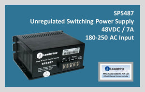 Leadshine Unregulated Switching Power Supply SPS 487 - MAS Auto Systems Pvt Ltd