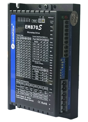 Leadshine Digital Stepper Drive EM-S Series - EM870S - MAS Auto Systems Pvt Ltd