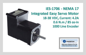 Leadshine Integrated Easy Servo Motor iES-1706 NEMA 17 - MAS Auto Systems Pvt Ltd