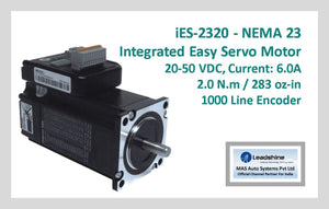 Leadshine Integrated Easy Servo Motor iES-2320 NEMA 23 - MAS Auto Systems Pvt Ltd