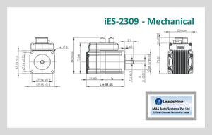 Leadshine Integrated Easy Servo Motor iES-2309 NEMA 23 - MAS Auto Systems Pvt Ltd