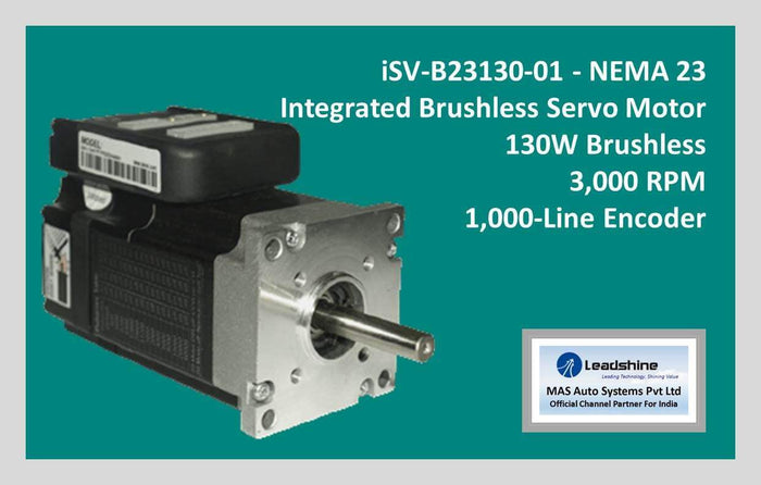 Leadshine Integrated Brushless Servo Motor iSV-B23130-01 - NEMA 23