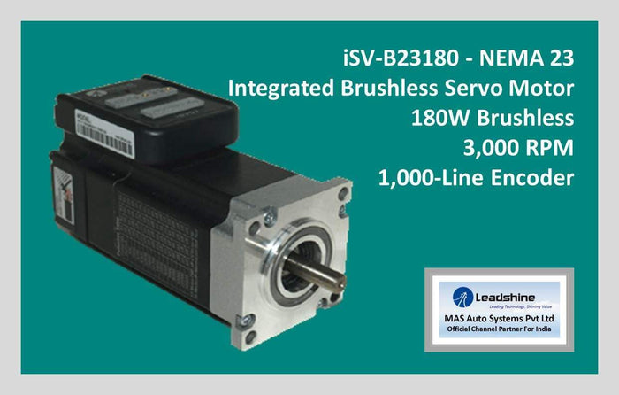 Leadshine Integrated Brushless Servo Motor iSV-B23180 - NEMA 23