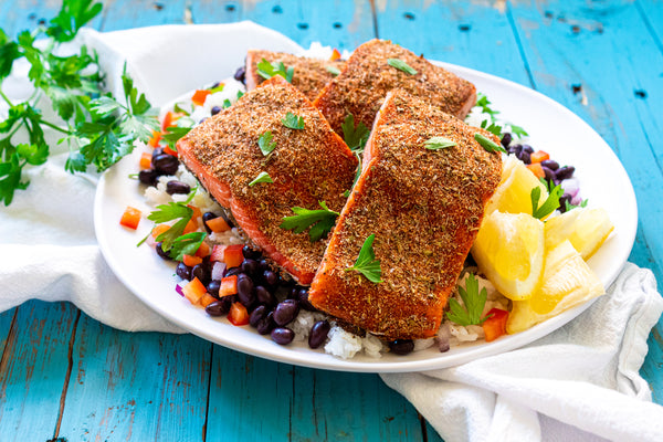 Blackened Baked Salmon