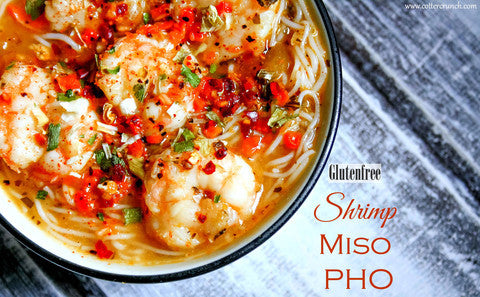 Shrimp Pho with Miso