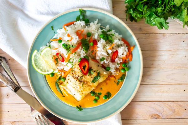 Coconut Curry Sablefish