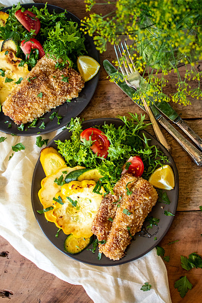 Honey Crusted Walleye