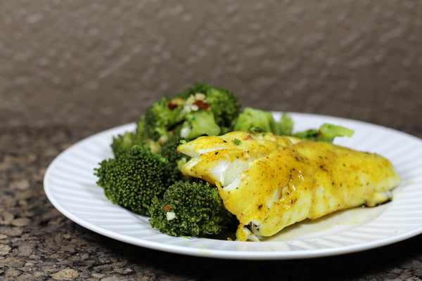 Lemon Curry Haddock