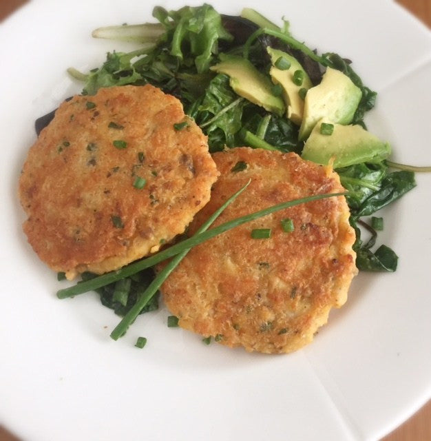 Breakfast Salmon Cakes