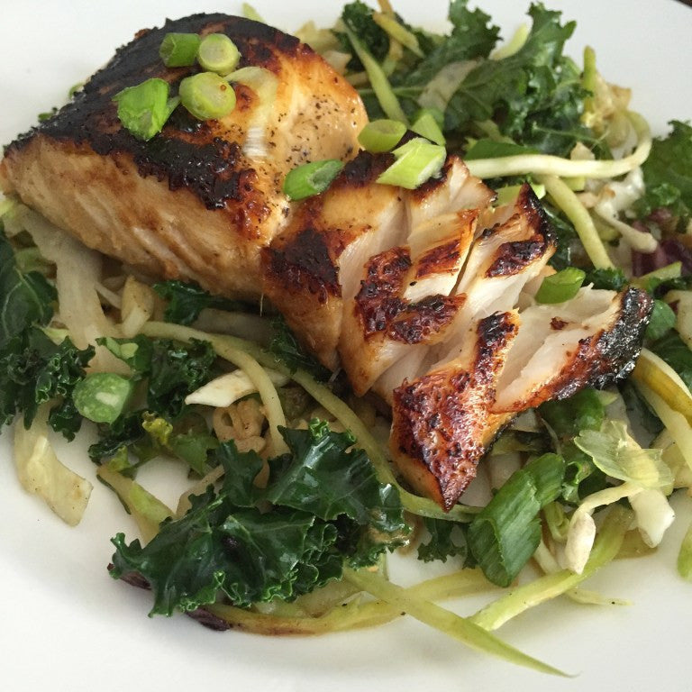 Warm Sablefish Salad