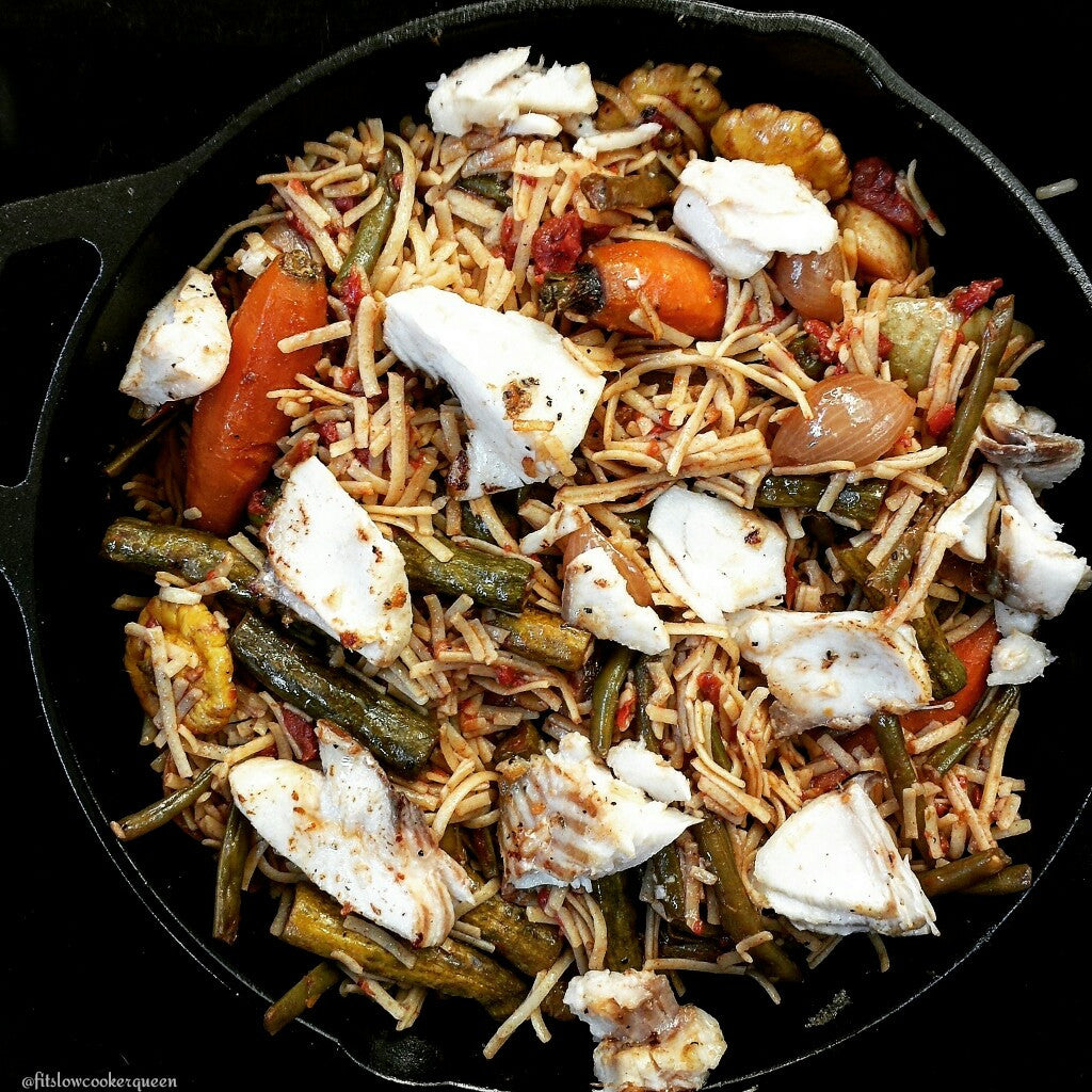 Vegetable Pasta Sablefish