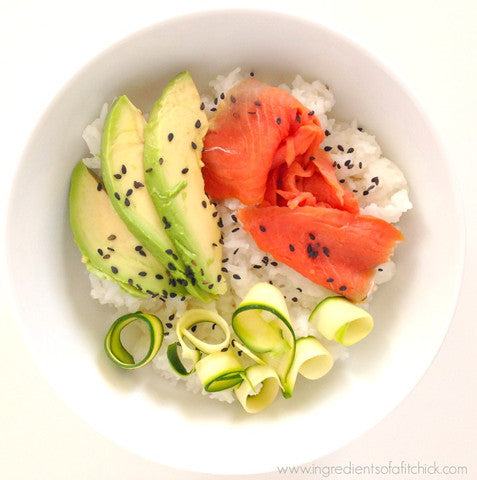 Smoked Salmon Power Bowl