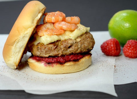Surf N Turf Burger